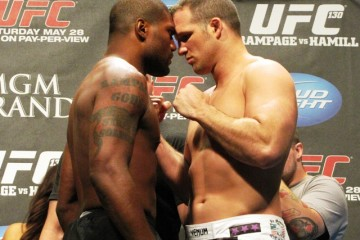 Rampage Jackson vs. Matt Hamill (Rob Tatum/The MMA Corner)