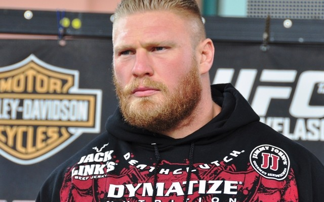 Brock Lesnar (Rob Tatum/The MMA Corner)