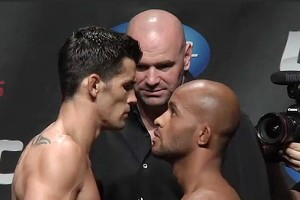 Dominick Cruz (L) vs. Demetrious Johnson (R) (Sherdog)