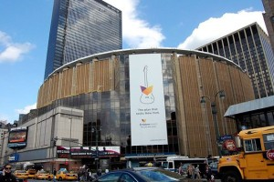 Madison Square Garden in New York City (Andrew Clem)