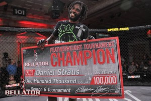 Straus is not only $100,000 richer, but he now has a guaranteed title shot (Bellator)