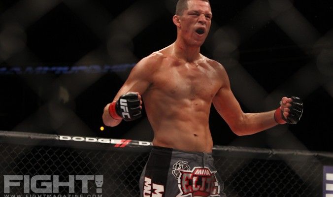 Nate Diaz (Paul Thatcher/Fight! Magazine)