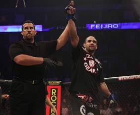 Rafael Cavalcante went from unranked to No. 8 in just 33-seconds (Dave Mandel/Sherdog)