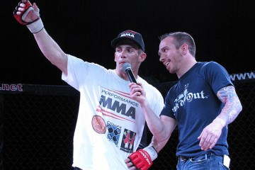 Nick Macias (L) (Rob Tatum/The MMA Corner)