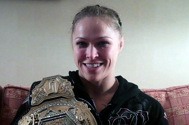 Strikeforce Champion Ronda Rousey (Sherdog)