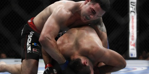Demian Maia vs Chris Weidman