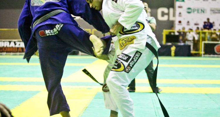 Romulo Barral (R) competing at the Rio Open (Ivan Trindade/Graciemag)