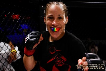 Liz Carmouche (Esther Lin/Invicta FC)