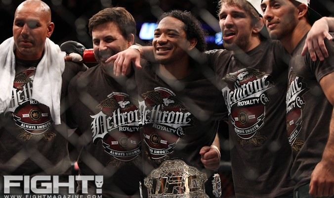 """""""Smooth"""" was all smiles after UFC 150 (Paul Thatcher/Fight! Magazine)"""