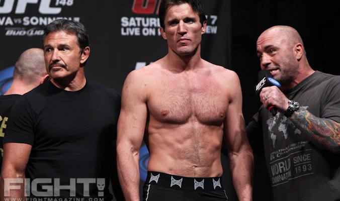 Chael Sonnen was up to his old antics, and almost landed a title fight at UFC 151 as a result (Paul Thatcher/Fight Magazine)