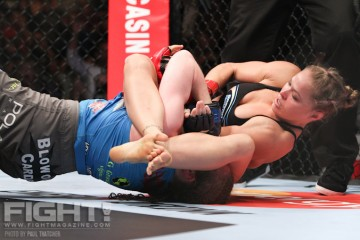 Should Ronda Rousey be ranked inside the top 10? (Paul Thatcher/Fight! Magazine)
