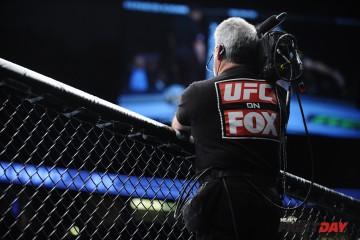 Fox cameraman (James Law/Heavy MMA)