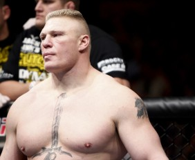 Brock Lesnar (Esther Lin/MMA Fighting)