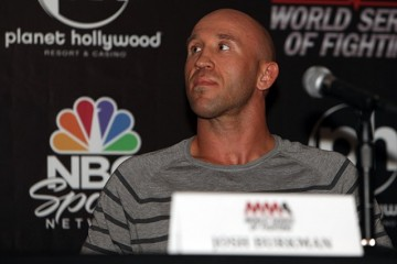 """The People's Warrior"" Josh Burkman (Dave Mandel/Sherdog)"