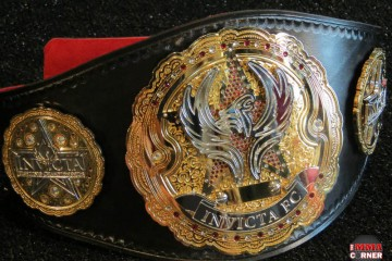 Invicta FC Belt (Jeff Vulgamore/The MMA Corner)