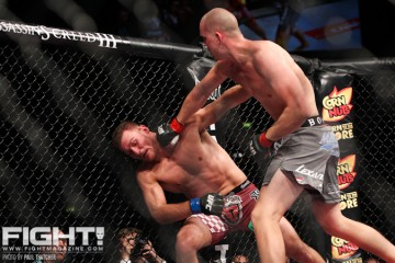 Stefan Struve's (r) knockout of Stipe Miocic wasn't enough to crack him into the top ten (Paul Thatcher/Fight! Magazine)