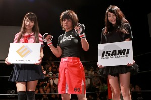 Sugiyama (center) (Taro Irei/Sherdog)