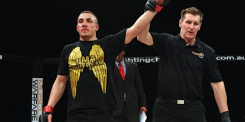 Whittaker (Chris de la Cruz/Sherdog)