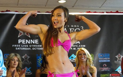 Michelle Waterson (Jeff Vulgamore/The MMA Corner)