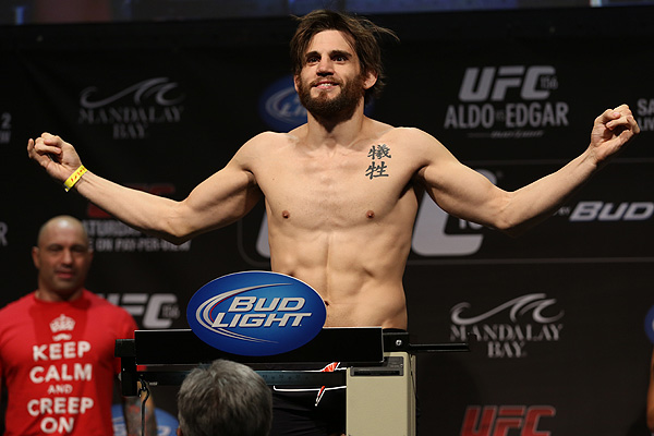 Jon Fitch's release from the UFC has left a lot of fighters looking over their back (Dave Mandel/Sherdog)