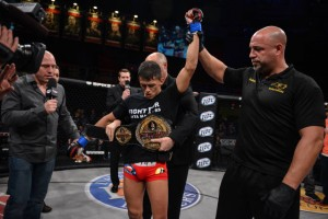 Eduardo Dantas looked great in retaining the Bellator title (Bellator)