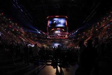 The view inside an arena for a UFC event (Esther Lin/MMA Fighting)