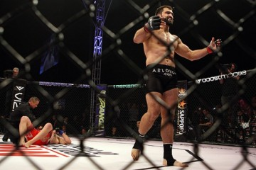 Arlovski walks away from a fallen opponent (Dave Mandel/Sherdog)