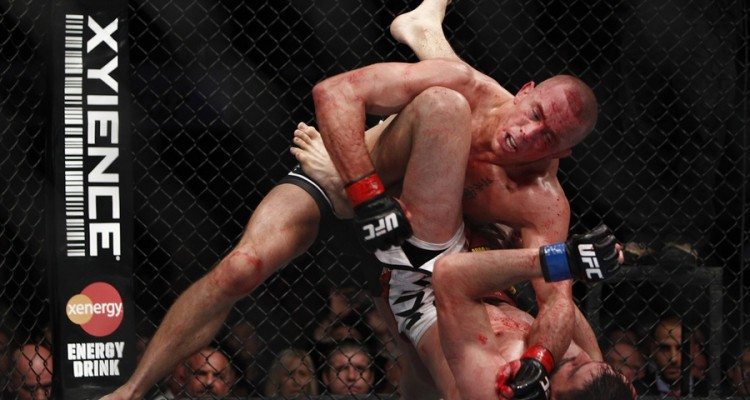 Georges St-Pierre (Esther Lin/MMA Fighting)