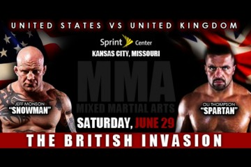 The British Invasion (GWC Fights)
