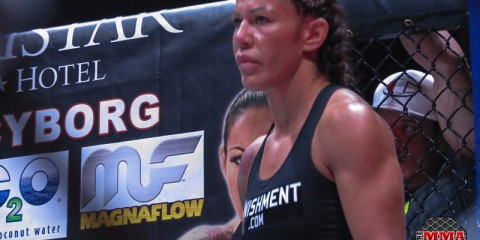 Cris Cyborg proved she's still the top featherweight (Jeff Vulgamore/The MMA Corner)