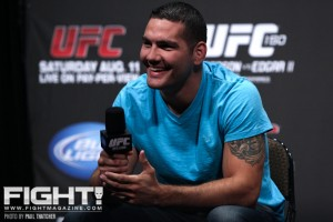 Chris Weidman will battle Anderson Silva for the middleweight title at UFC 162 (Paul Thatcher/Fight! Magazine)