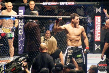 """The Count"" bounced back nicely after the loss to Belfort with the victory over Belcher (Brian McKenna/The MMA Corner)"
