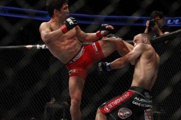 Uyenoyama was TKO'ed by Benavidez at UFC on Fox 7 (Ester Lin/MMA Fighting)