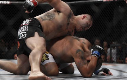 """It will take more than Velasquez beating """"Bigfoot"""" for a second time to shoot himself up the pound-for-pound rankings (Esther Lin/MMA Fighting)"""