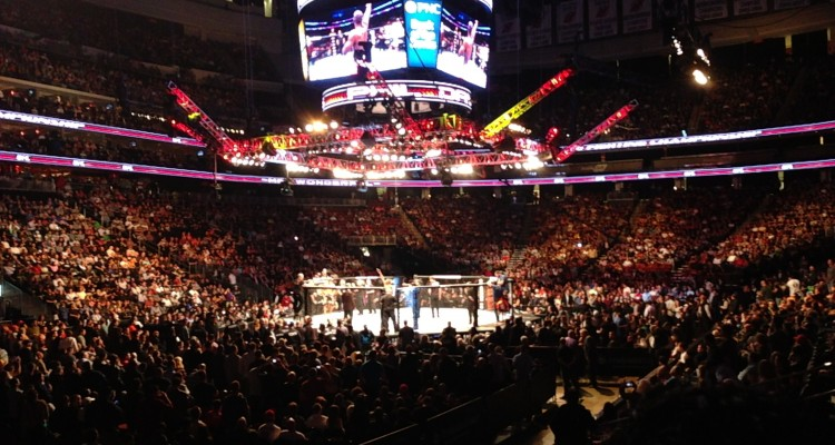 The Octagon (Esther Lin/MMA Fighting)