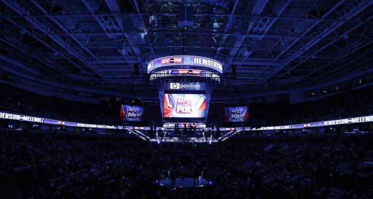 The inside of the HP Pavilion for UFC on Fox 7 (Esther Lin/MMA Fighting)