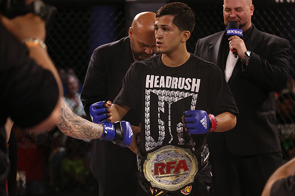 It may not be long until Sergio Pettis fights insdie the Octagon (Dave Mandel/Sherdog)