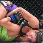 No. 2 Penne bounced back from losing her title (Jeff Vulgamore/The MMA Corner)