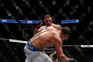 Velasquez defeated dos Santos in the rubber match of their trilogy at UFC 166 (Ester Lin/MMA Fighting)
