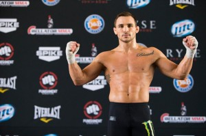 Chandler will defend his title against Alvarez at Bellator 106 (Ester Lin/MMA Fighting)