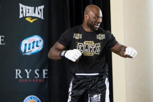 """""""King Mo"""" fights for the interim light heavyweight title on Saturday (Ester Lin/MMA Fighting)"""