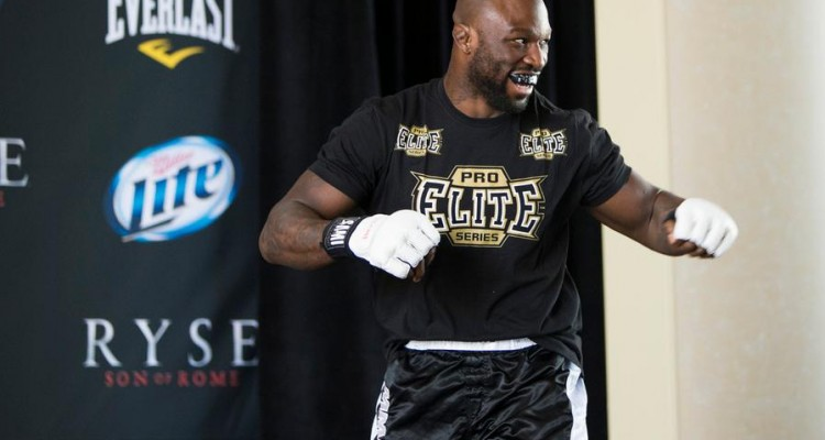 """King Mo"" fights for the interim light heavyweight title on Saturday (Ester Lin/MMA Fighting)"