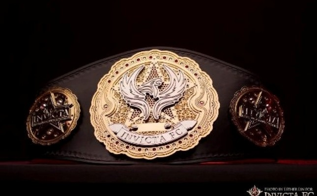 Invicta Belt (Esther Lin/Invicta FC)