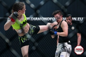 Joanne Calderwood (L) (Jeff Vulgamore/The MMA Corner)