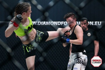 Calderwood (L) (Jeff Vulgamore/The MMA Corner)
