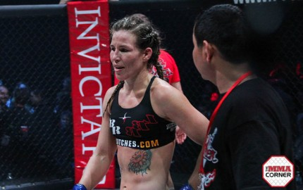 Leslie Smith (Jeff Vulgamore/The MMA Corner)