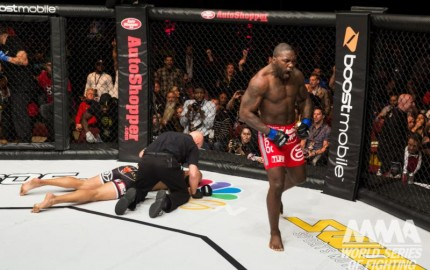 "Anthony ""Rumble"" Johnson vs. Mike Kyle"