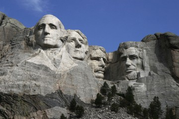 Mount Rushmore (Dean Franklin/Wikipedia)