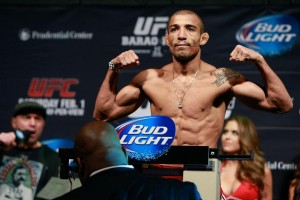 Aldo's reign of dominance at 145-pounds after he handled Lamas at UFC 169 (Esther Lin/MMA Fighting)