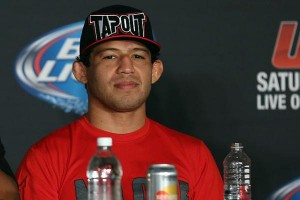 "Your No. 1 contender for ""Showtime's"" championship belt: Gilbert Melendez (Dave Mandel/Sherdog)"